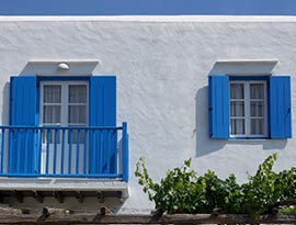 Lodge Narlis Zimmer in Sifnos