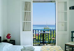 Room Erato with sea view